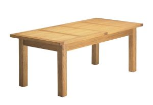 Charltons Bretagne Solid Oak 2000 Extending Dining Table